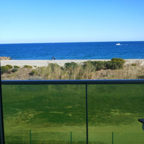 Appartement St Cyprien Plage 66750 Front de Mer Vue Mer – Gîte De on